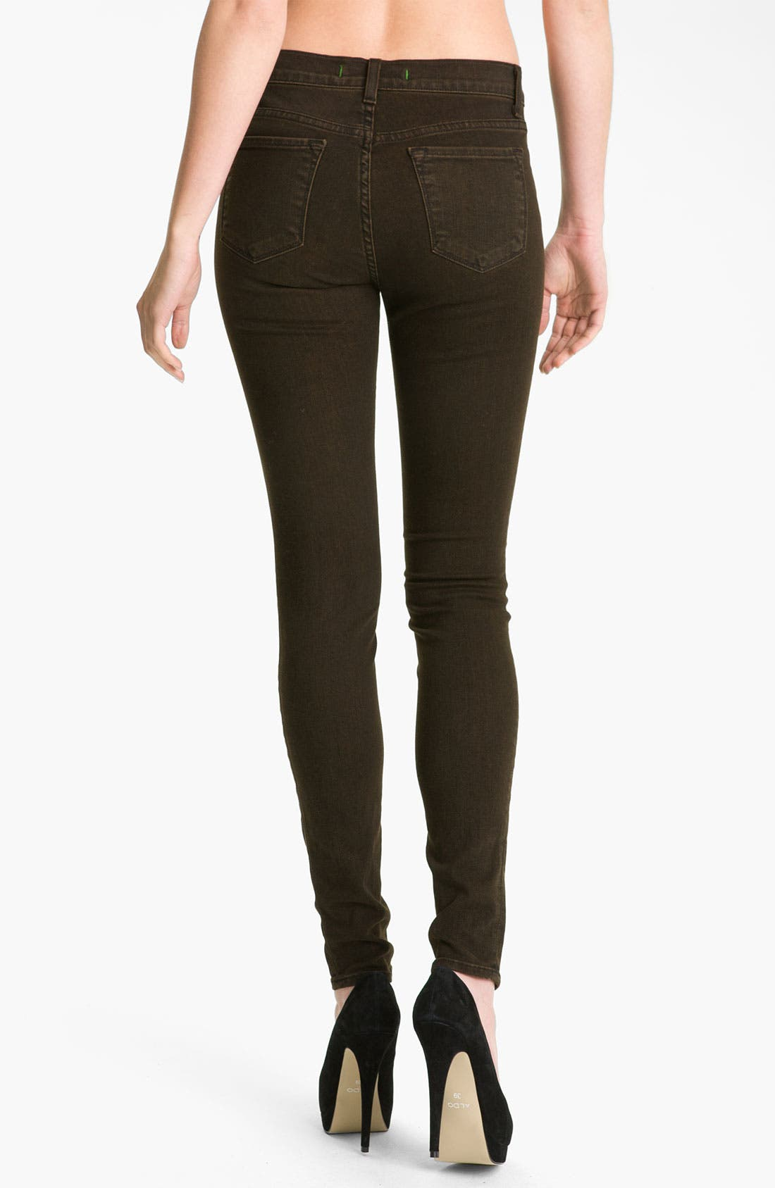 ,                             Skinny Stretch Ankle Jeans,                             Alternate thumbnail 24, color,                             205