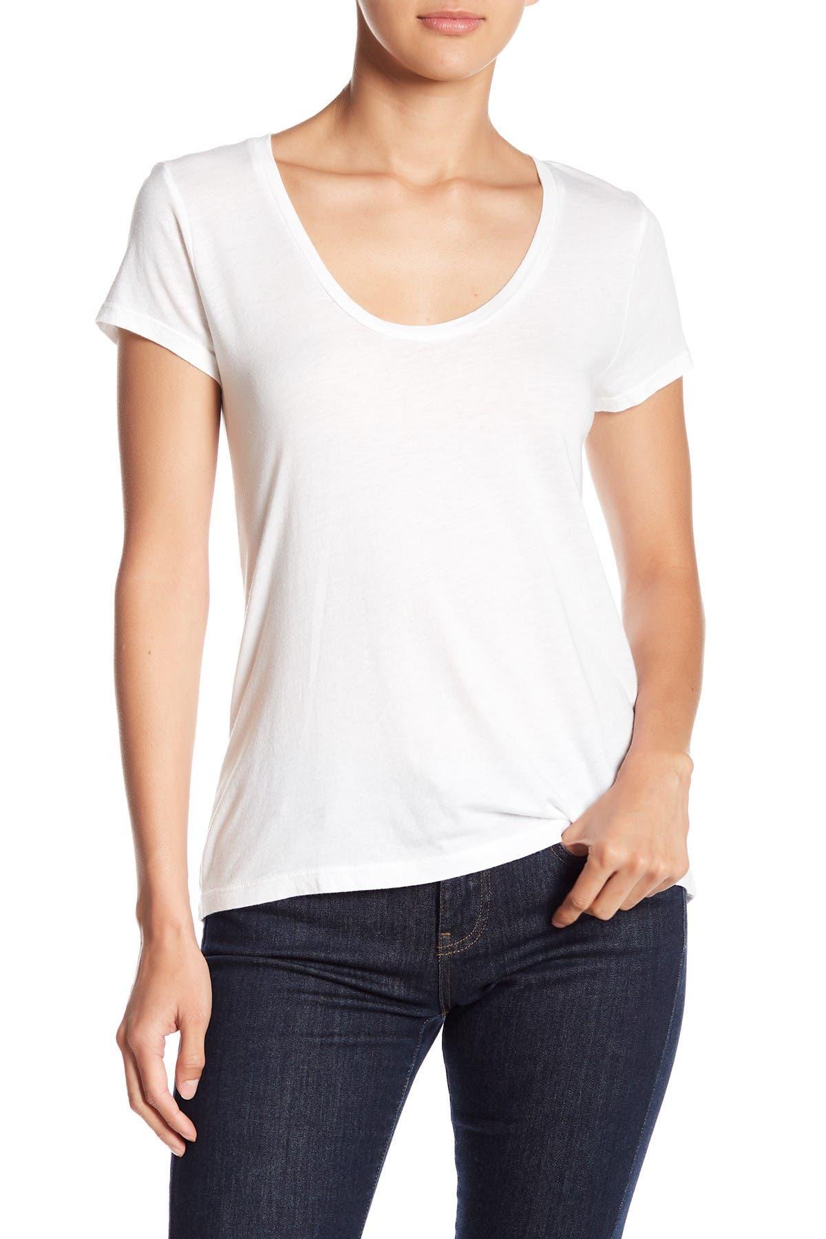 Image of Splendid Scoop Neck T-Shirt