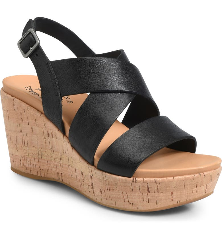 KORK-EASE<SUP>®</SUP> Ashcroft Wedge Sandal, Main, color, 001