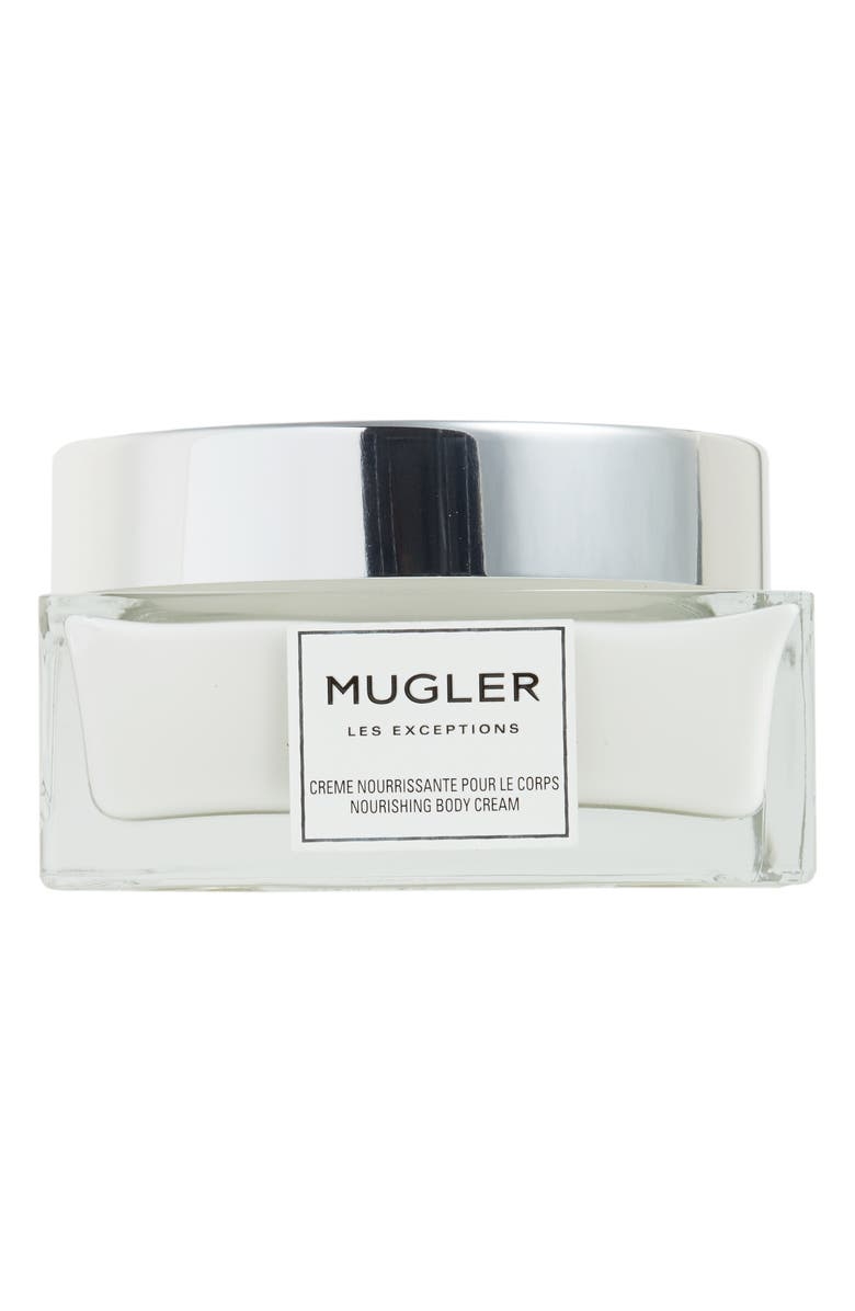 MUGLER Les Exceptions Over the Musk Nourishing Body Cream, Main, color, 000