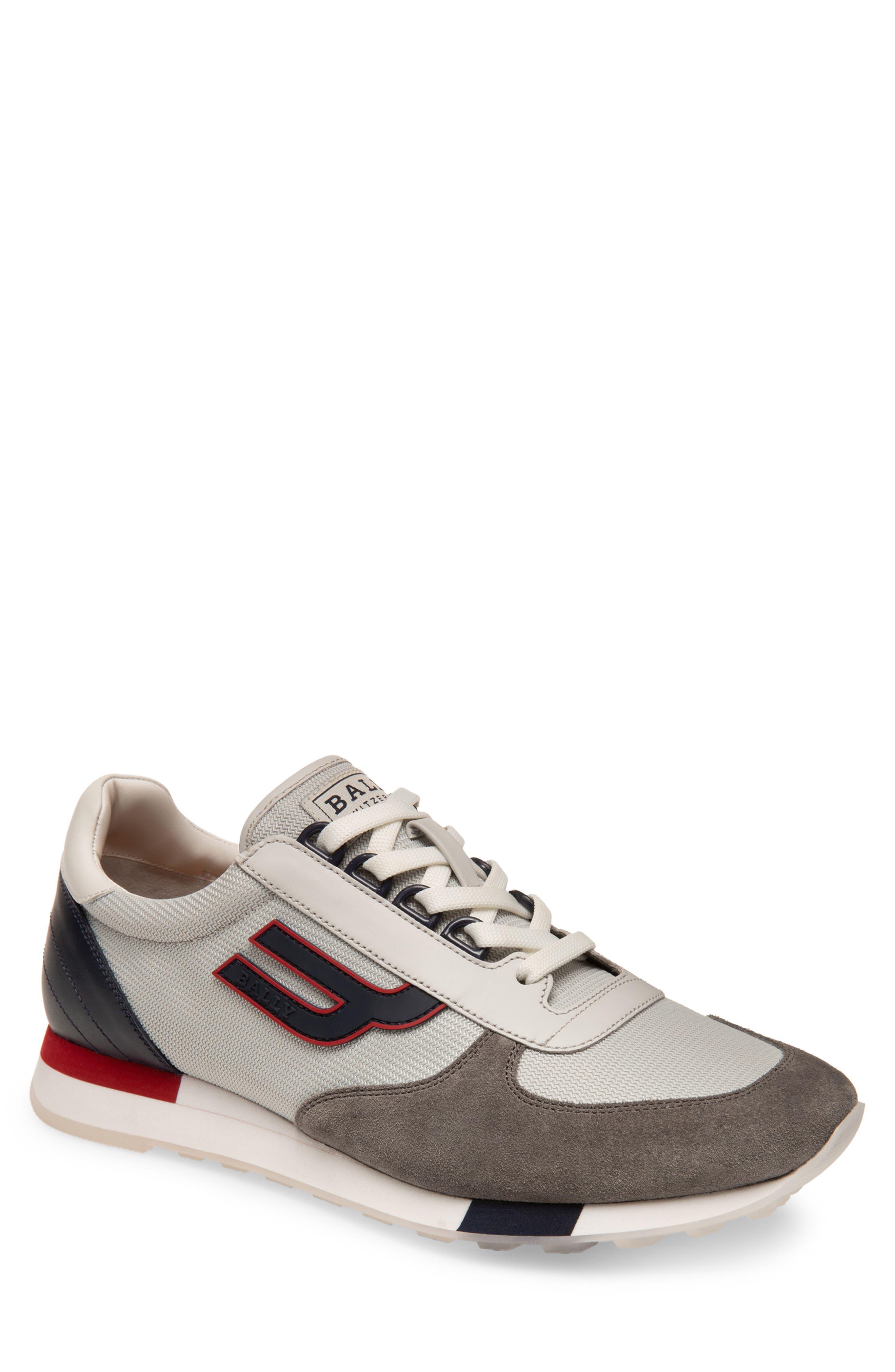 Gavino Low Top Sneaker, Main, color, GREY