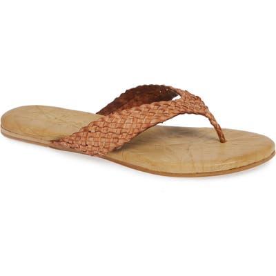Sbicca Katida Flip Flop, Brown