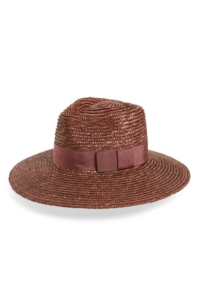 Brixton Hats JOANNA STRAW HAT - PURPLE