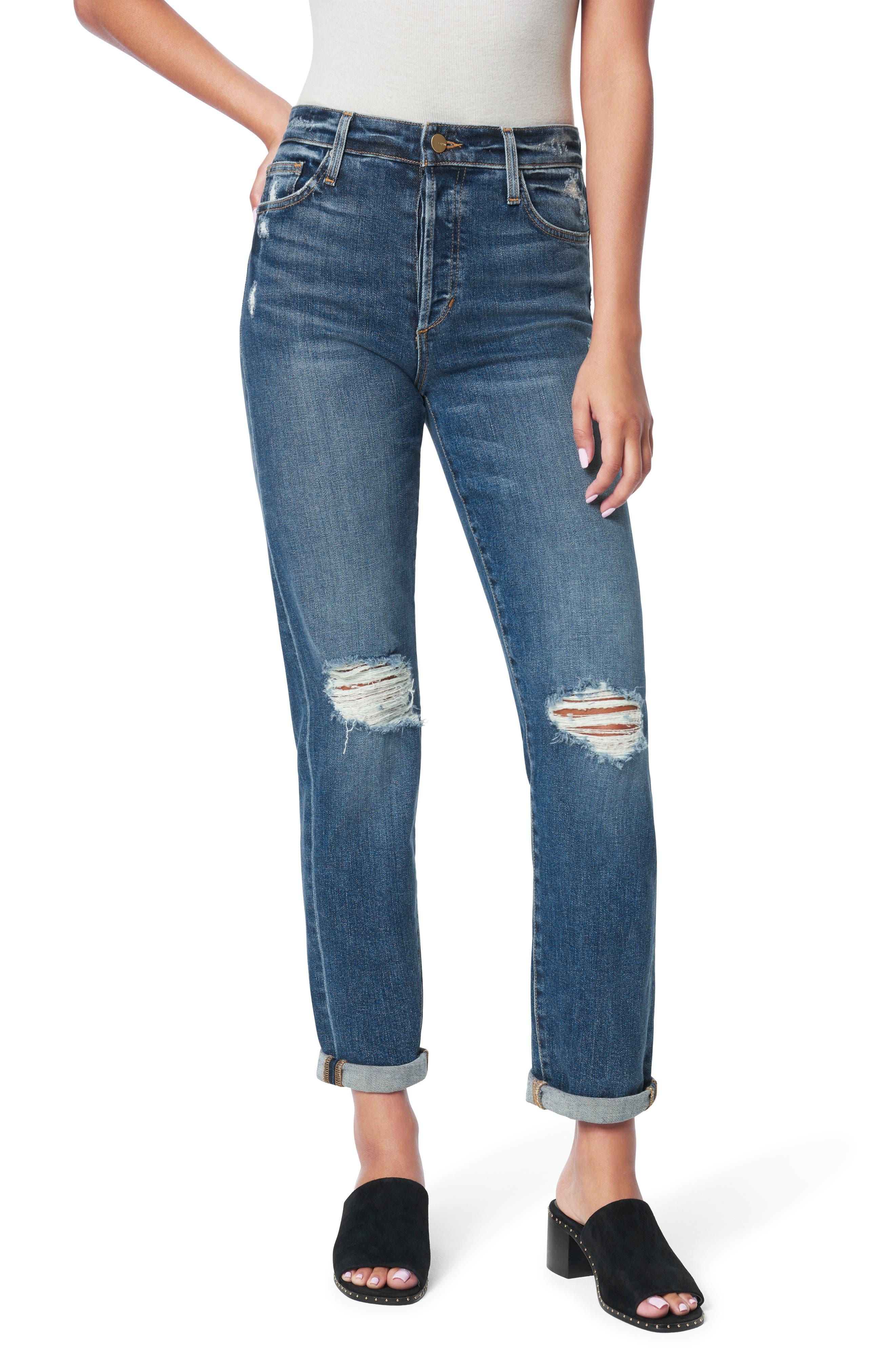 Women's Joe's The Niki Boyfriend Jeans,  25 - Blue