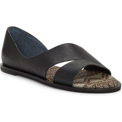 Lucky Brand Felicitas Flat Sandal, Black