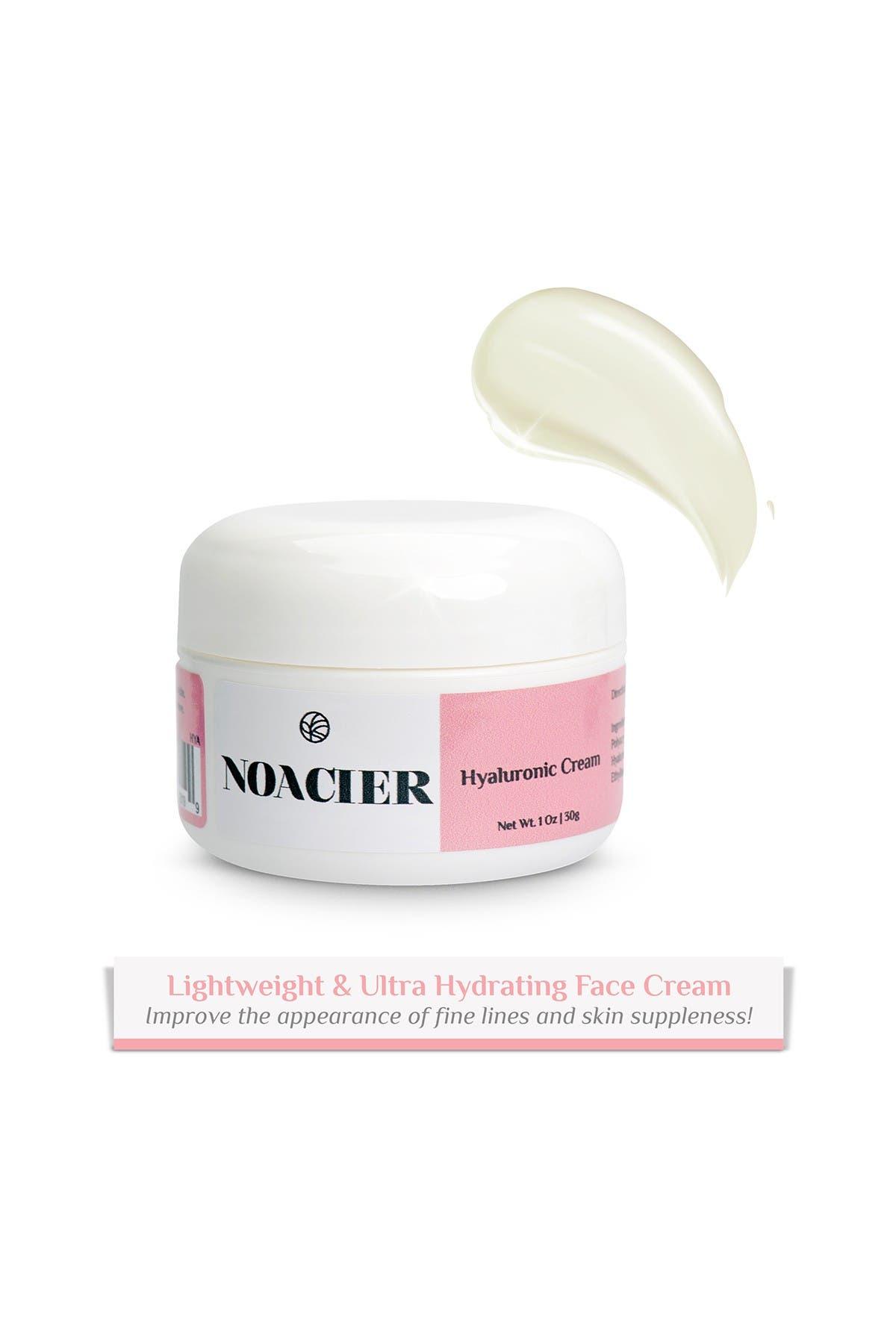 Image of Noacier Hyaluronic Acid Face Cream, Anti-Aging, Wrinkle Free, Ultra-Hydrating Moisturizing Facial Cream