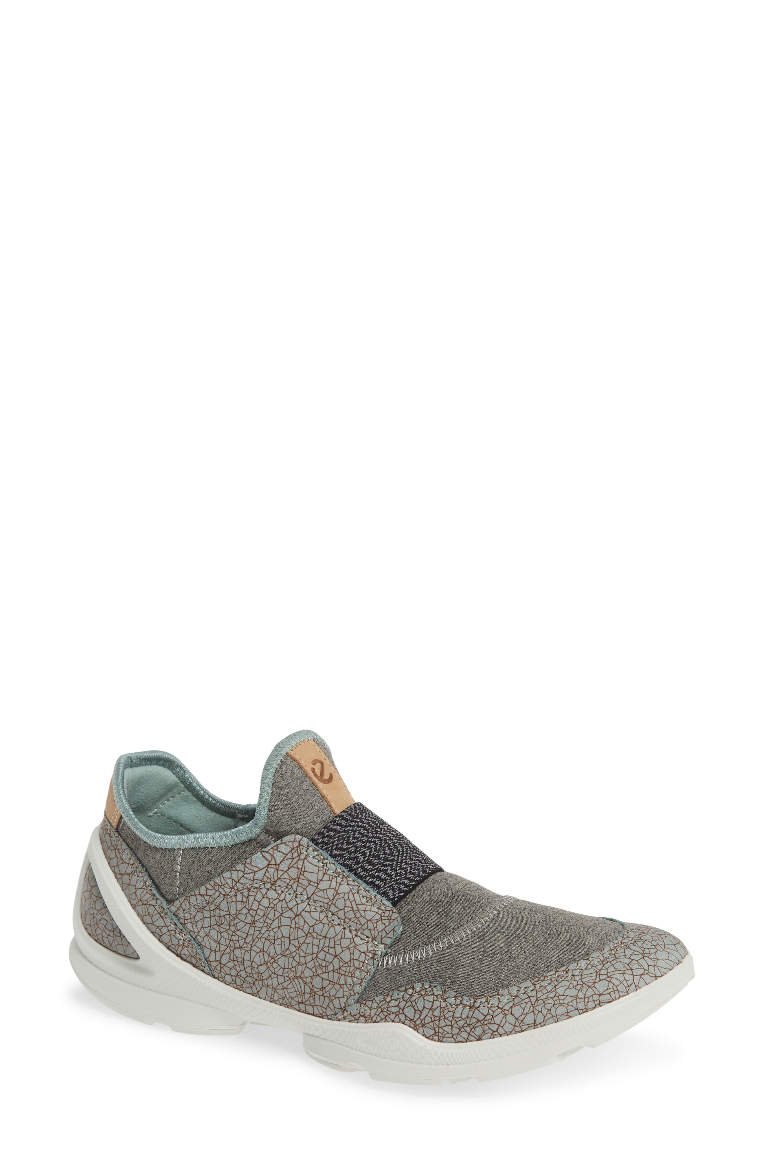 Ecco Biom Street Slip-On Sneaker, Grey