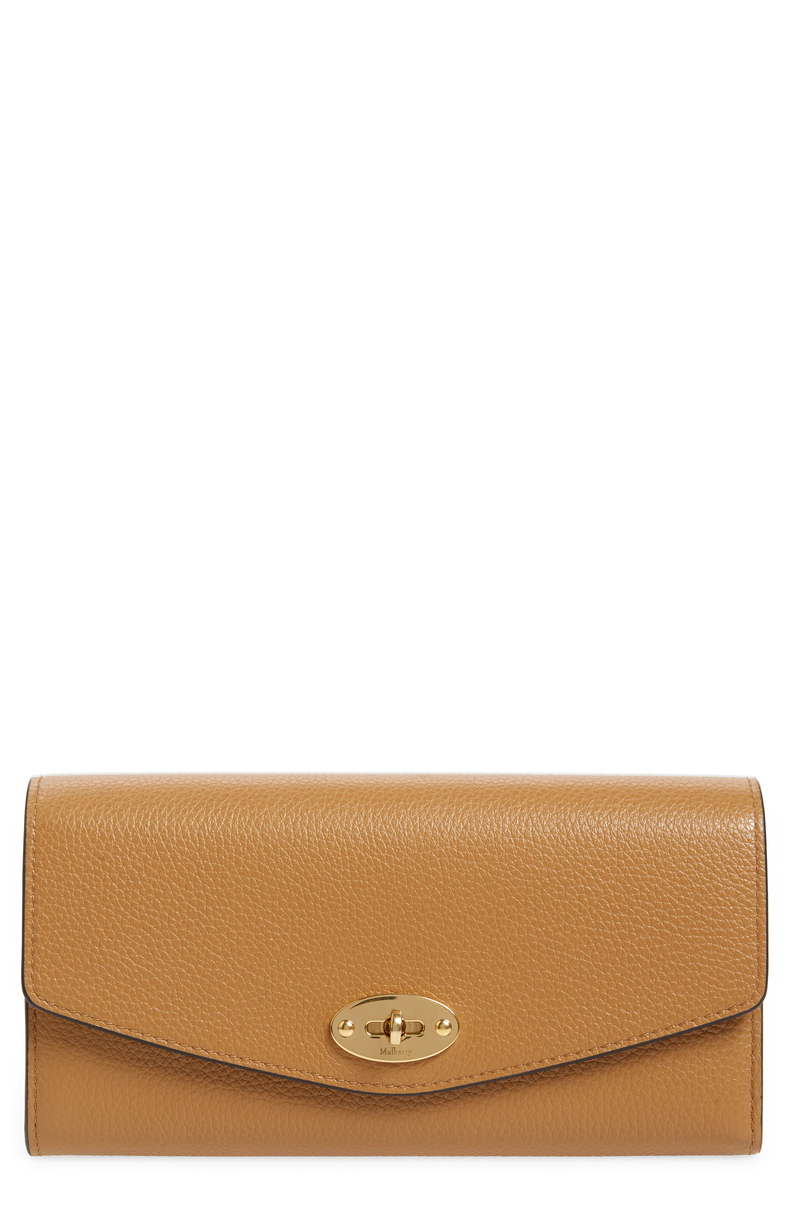 Mulberry Darley Continental Leather Wallet | Nordstrom