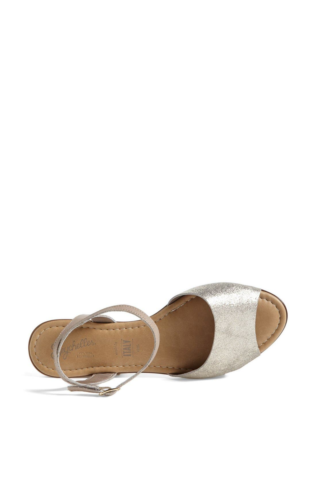 ,                             'Brand New' Ankle Strap Calf Hair Sandal,                             Alternate thumbnail 7, color,                             061