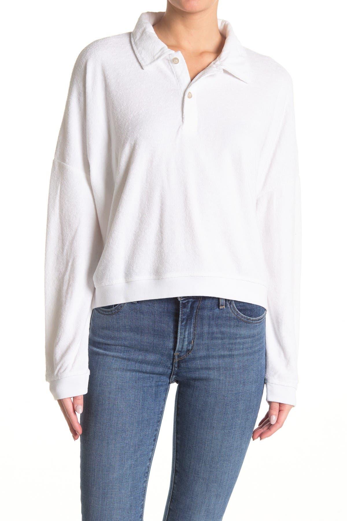 Image of Alternative Courtside Drop Shoulder Pullover