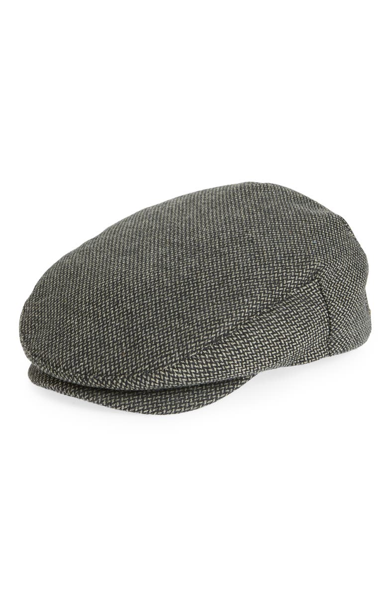 BRIXTON Hooligan III Driving Cap, Main, color, DARK GREY