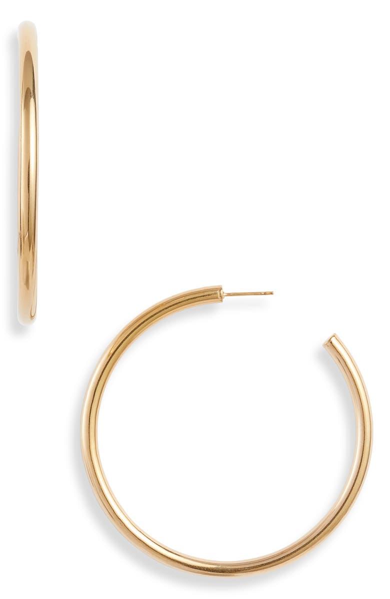ELLIE VAIL Jade Large Hoop Earrings, Main, color, GOLD