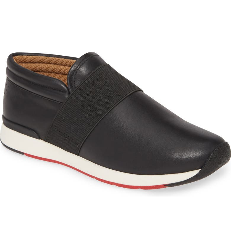 VIONIC Calina Sneaker, Main, color, BLACK LEATHER