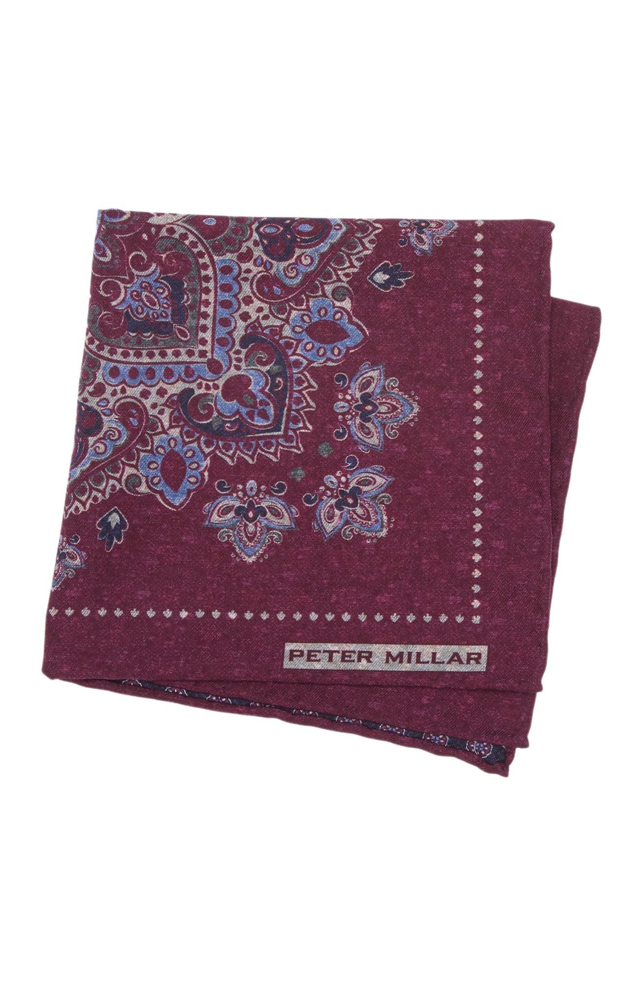 Image of Peter Millar Butte Bandana Pocket Square
