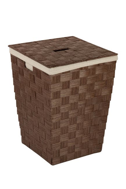 Image of Honey-Can-Do Woven Brown Hamper