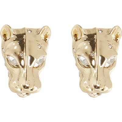 Alexis Bittar Future Antiquity Panther Head Earrings