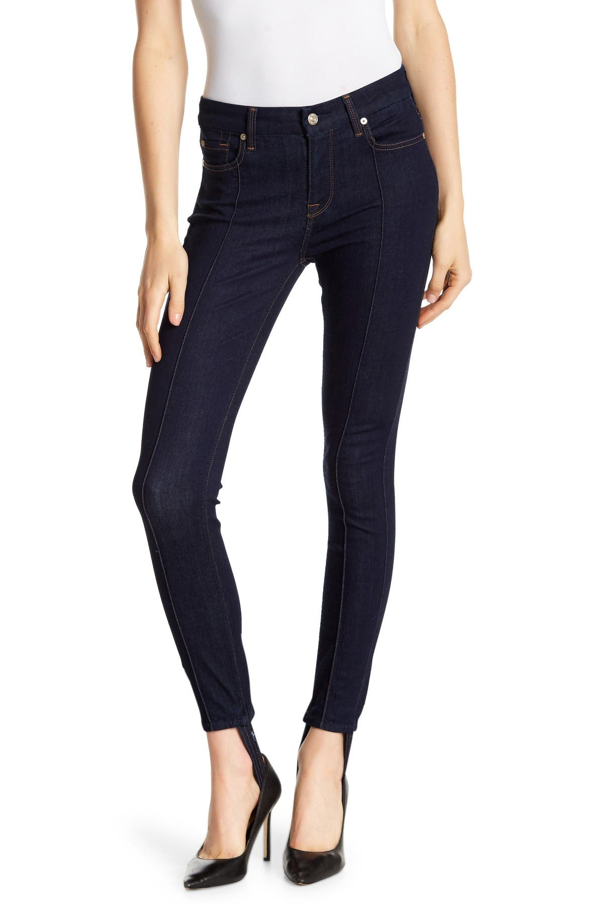 Image of 7 For All Mankind Ankle Skinny Stirrup Jeans