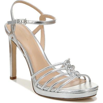 Via Spiga Malka Ankle Strap Sandal- Metallic