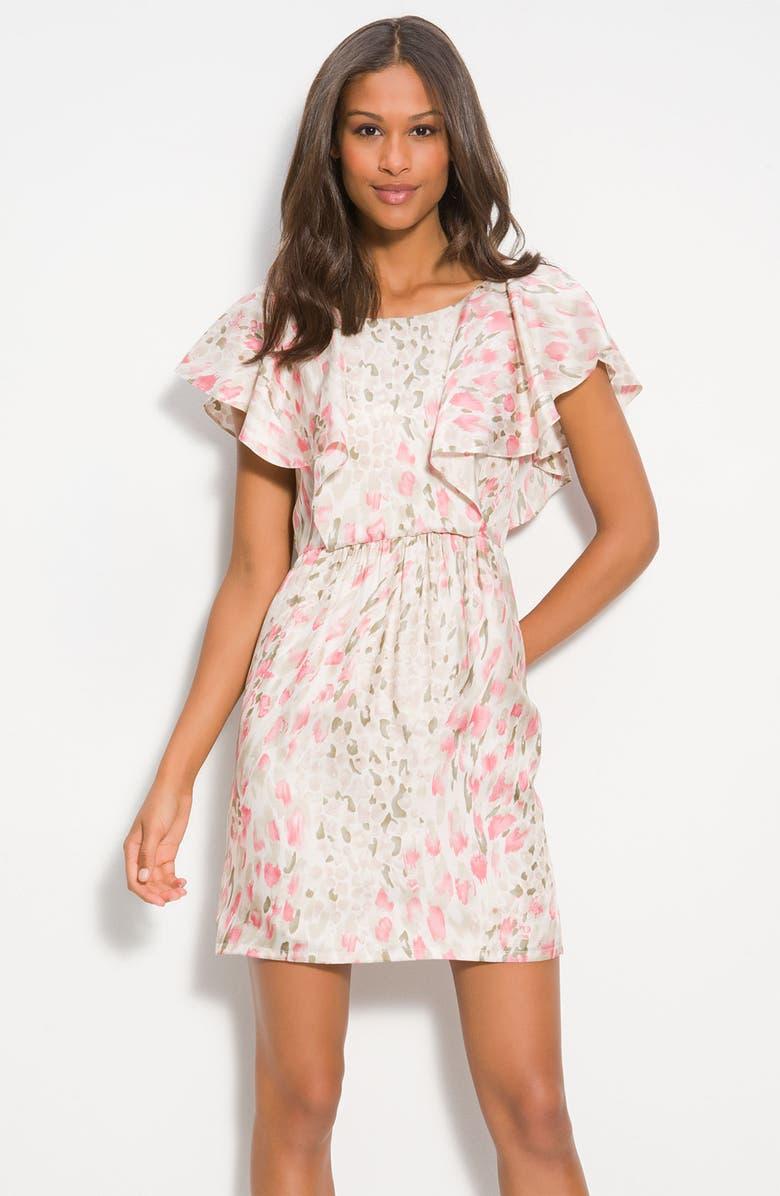 JULIE DILLON Print Split Sleeve Dress, Main, color, 660
