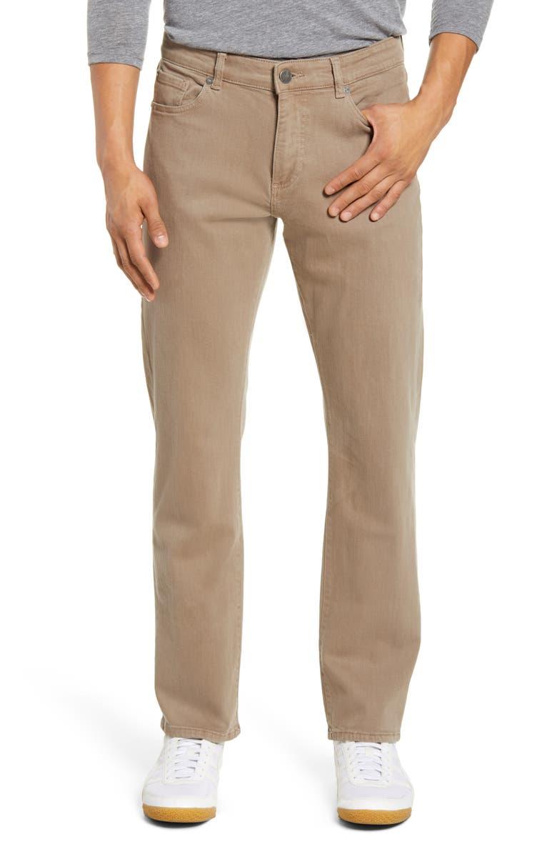 DL1961 Avery Modern Straight Leg Jeans, Main, color, CEDARWOOD