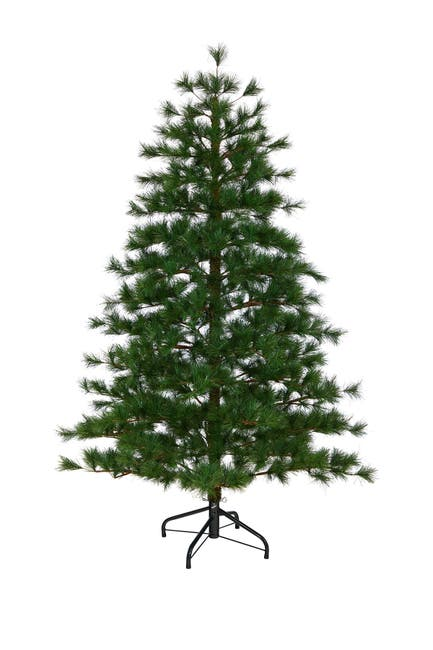 Image of NEARLY NATURAL 6ft. Yukon Mixed Pine Artificial Christmas Tree
