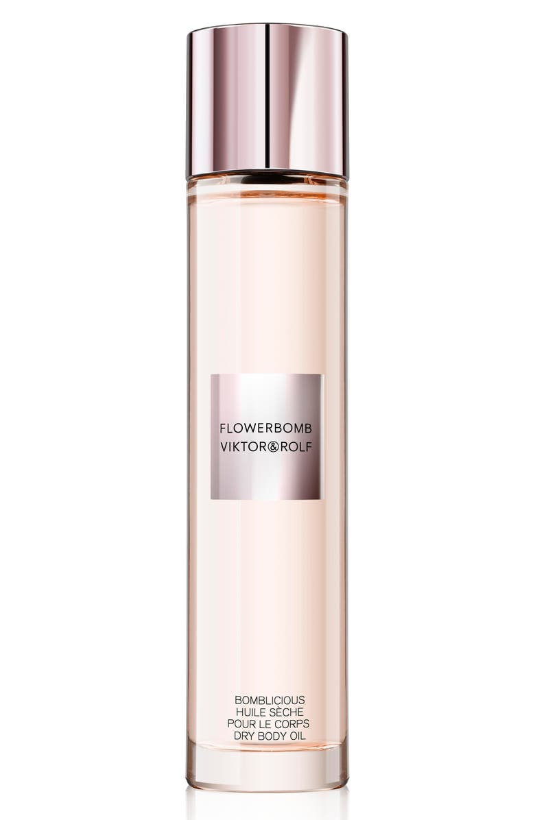VIKTOR&ROLF Flowerbomb Dry Body Oil, Main, color, 000