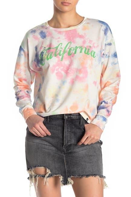 Image of CIRCLEX California Tie-Dye Sweatshirt