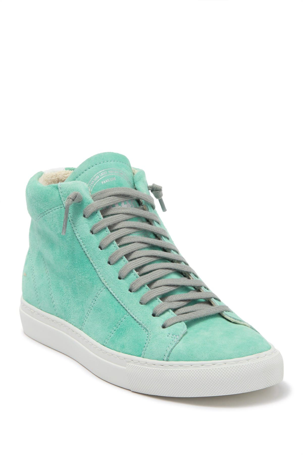 Image of P448 S20 High Top Star Sneaker