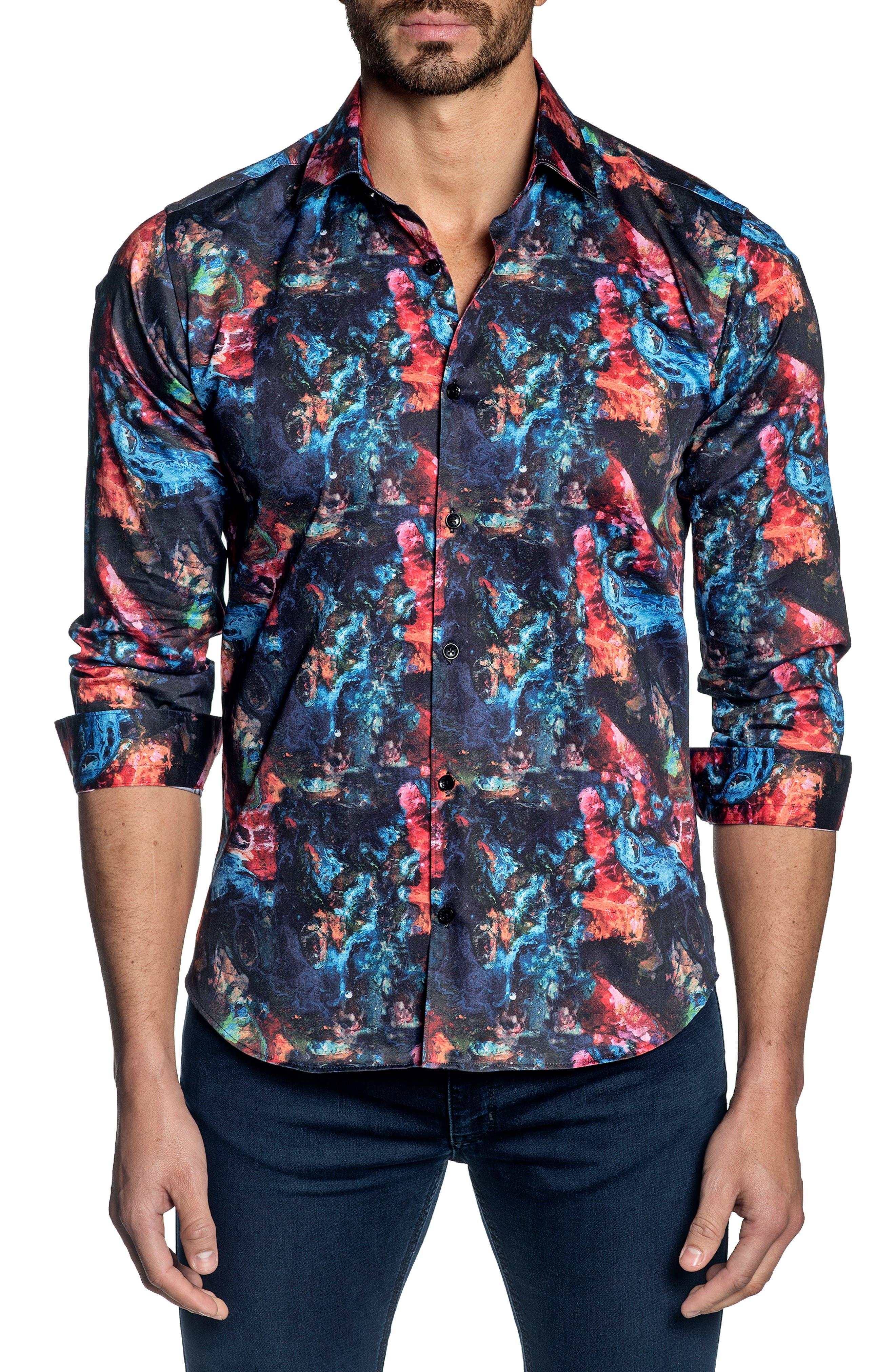 Regular Fit Button-Up Shirt