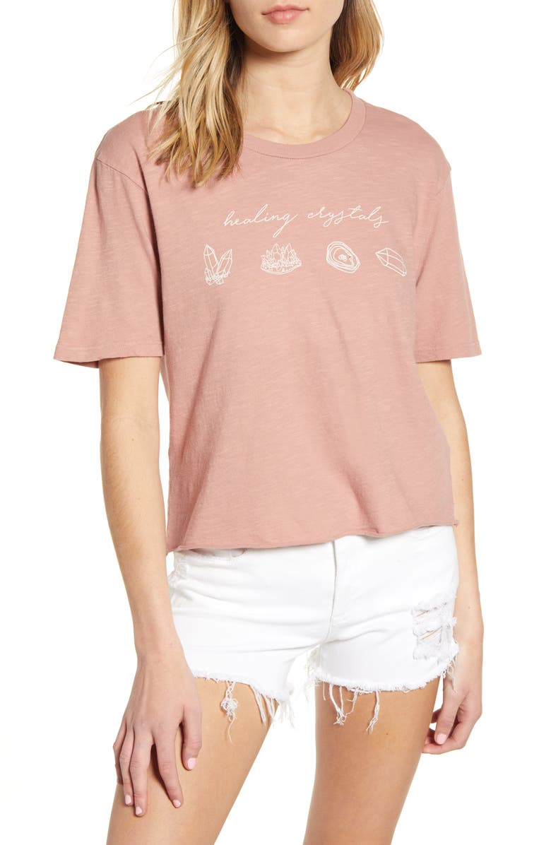 PST BY PROJECT SOCIAL T Healing Crystals Graphic Tee, Main, color, 500