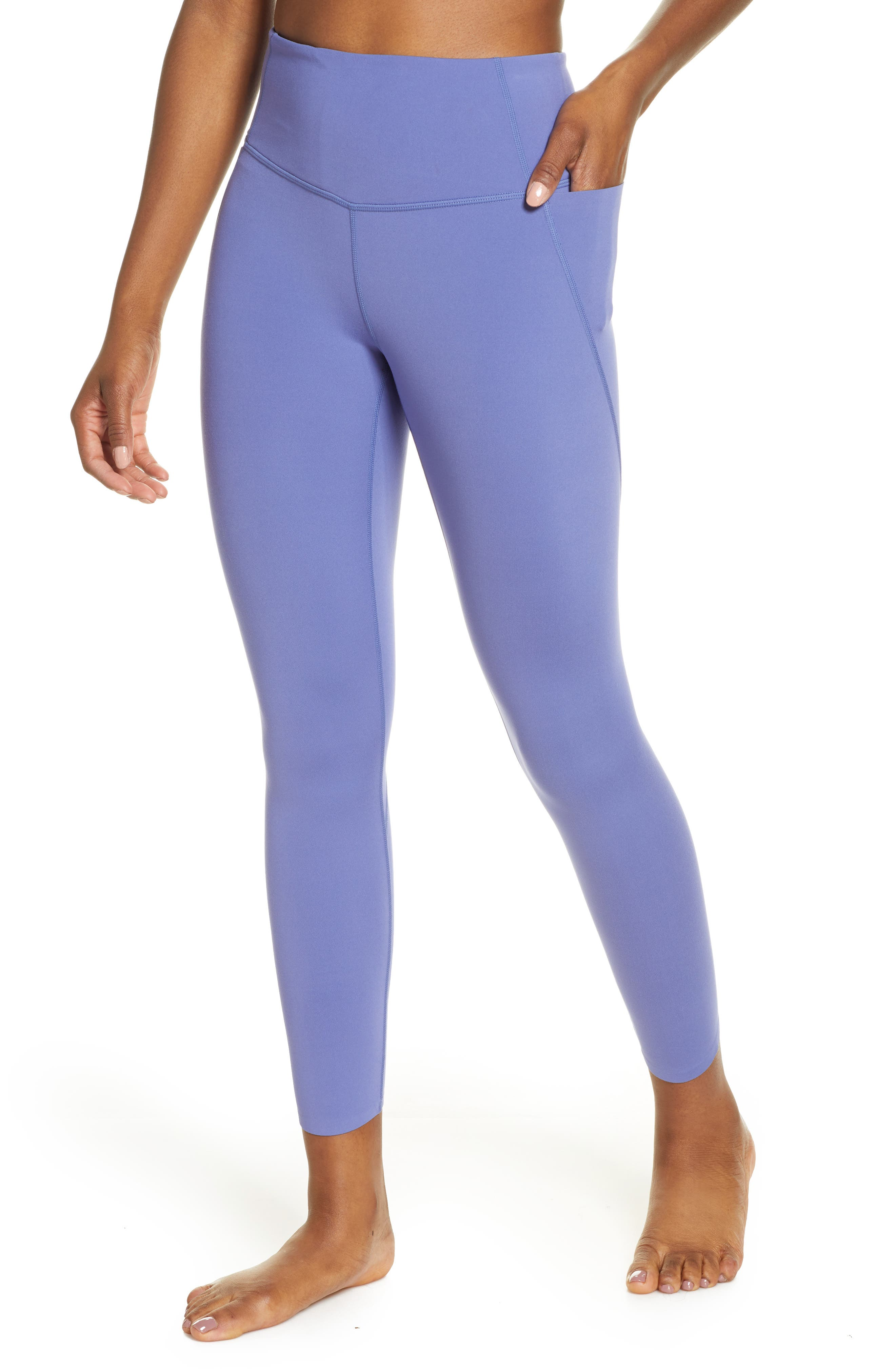 Women's Zella Studio Lite High Waist Pocket 7/8 Leggings