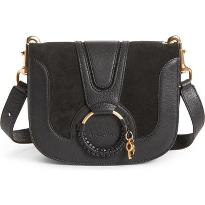 See By Chloe Hana Suede & Leather Shoulder Bag -