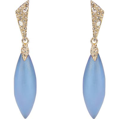 Alexis Bittar Pave Capped Petal Earrings