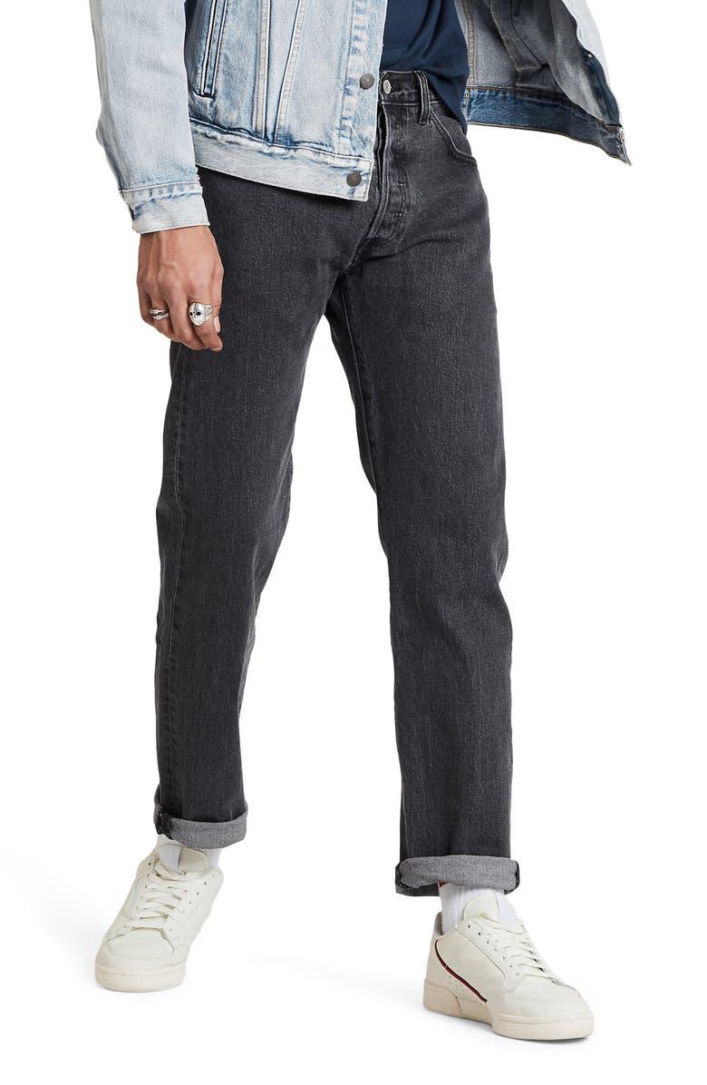 LEVI'S<SUP>®</SUP> 501<sup>®</sup> '93 Straight Leg Jeans, Main, color, RAISIN STONE