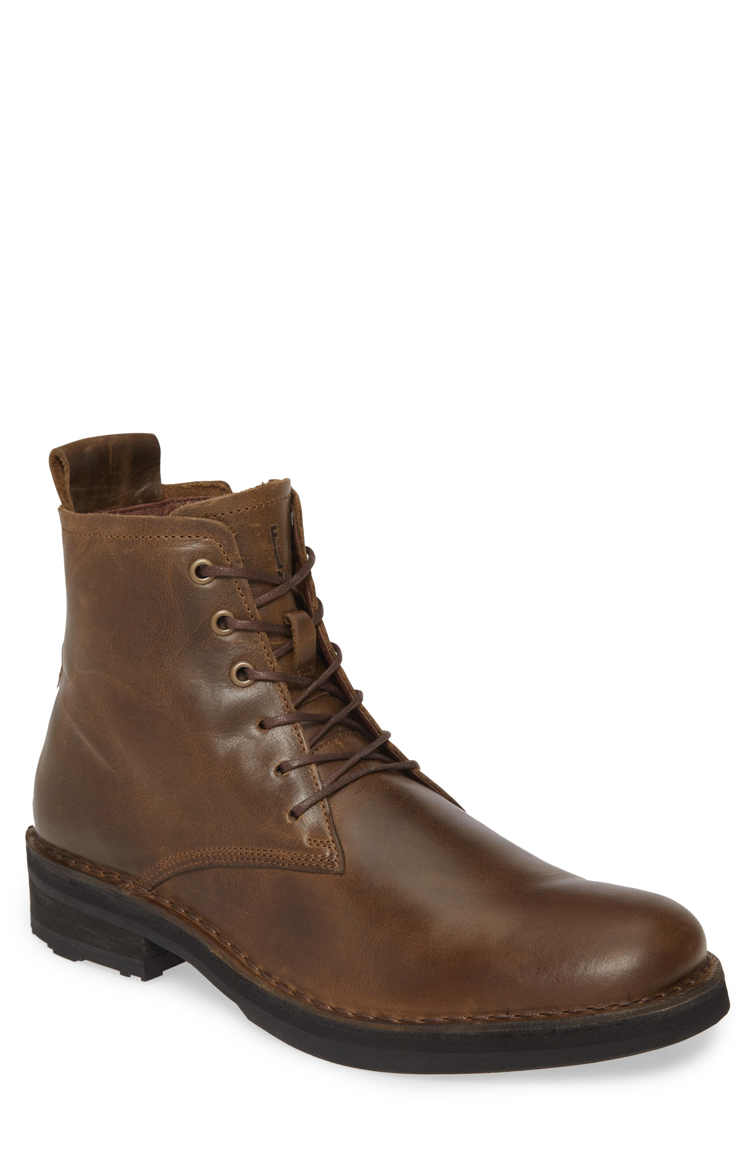 Roze Lace-Up Boot