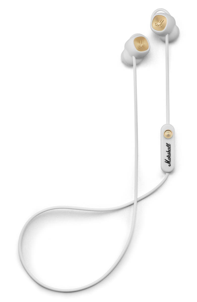 MARSHALL Minor II Bluetooth Earbuds, Main, color, WHITE