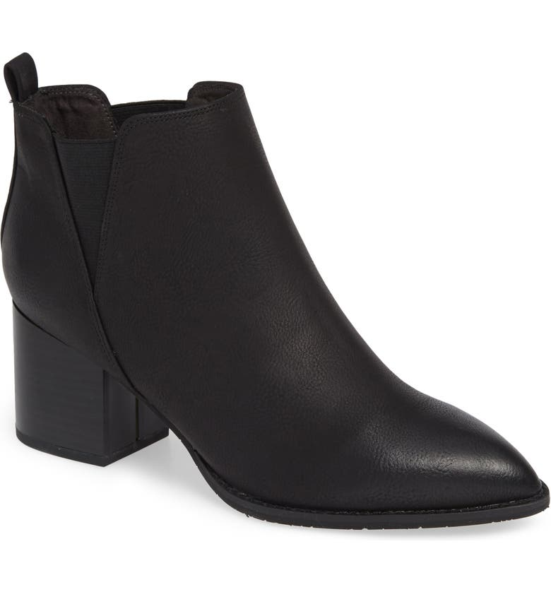BC FOOTWEAR Depth Vegan Bootie, Main, color, BLACK NUBUCK