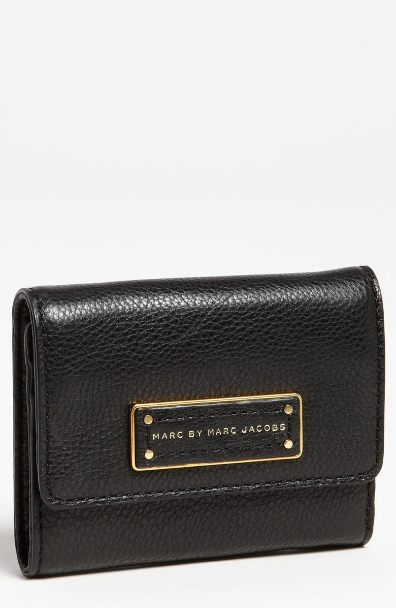 MARC JACOBS MARC BY MARC JACOBS 'Too Hot to Handle' Billfold Wallet, Main, color, 001