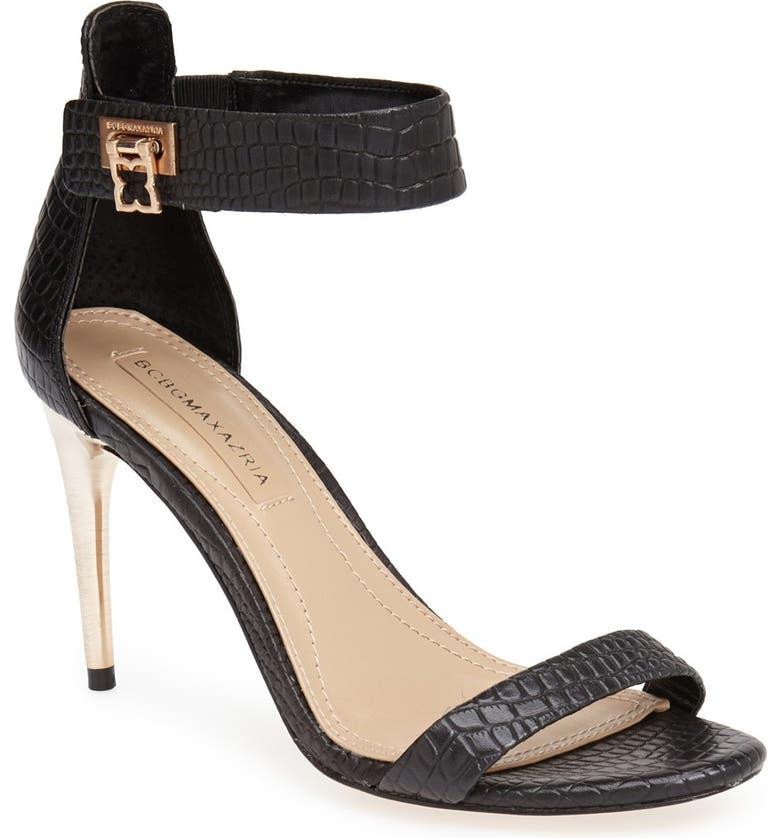 BCBGMAXAZRIA 'Polaris' Sandal, Main, color, 001