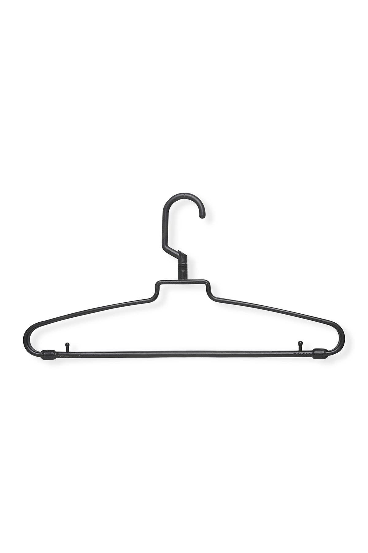 Image of Honey-Can-Do 72-Pack Hotel Style Brown Hangers