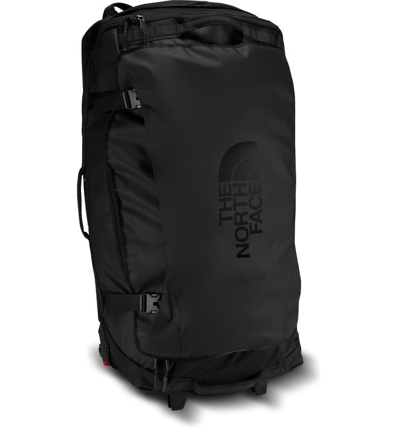 THE NORTH FACE Rolling Thunder Wheeled Duffle Bag, Main, color, TNF BLACK