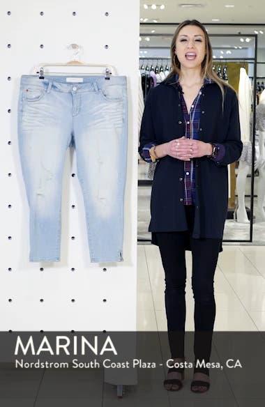 SLINK Distress Crop Jeans, sales video thumbnail