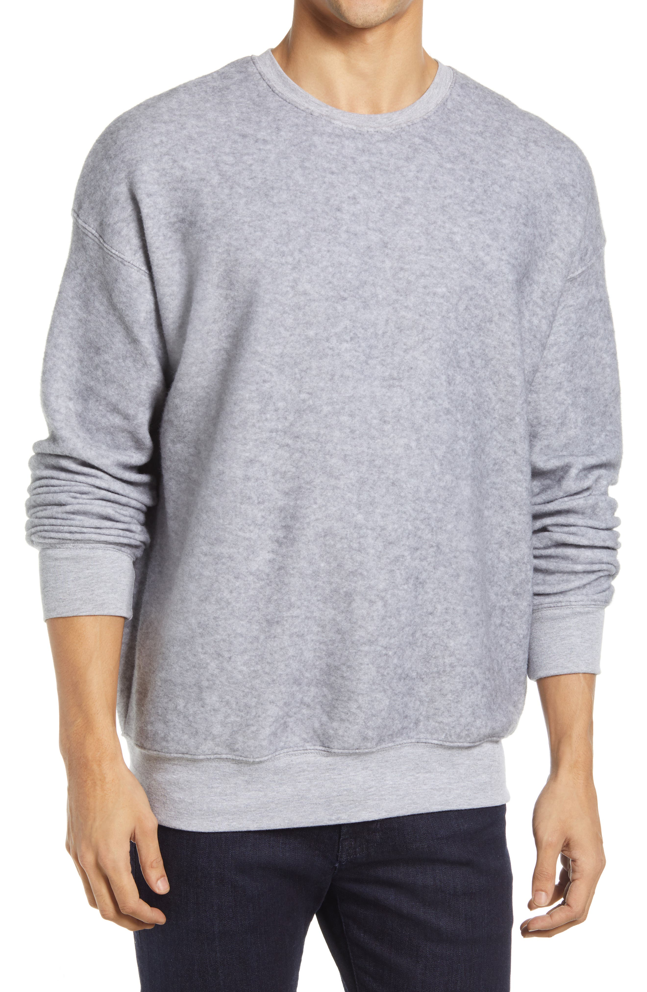 Men's Bella+Canvas Cotton Blend Crewneck Sweatshirt