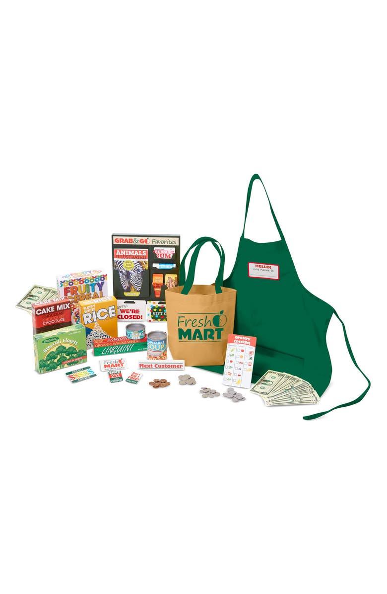 MELISSA & DOUG Grocery Store Companion Set, Main, color, GREEN