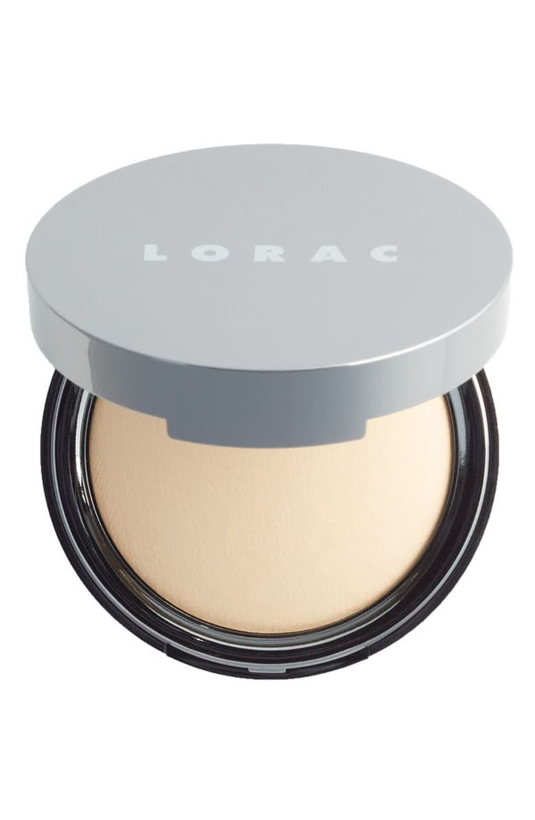 LORAC POREfection<sup>®</sup> Baked Perfecting Powder, Main, color, PF3 LIGHT/ MEDIUM