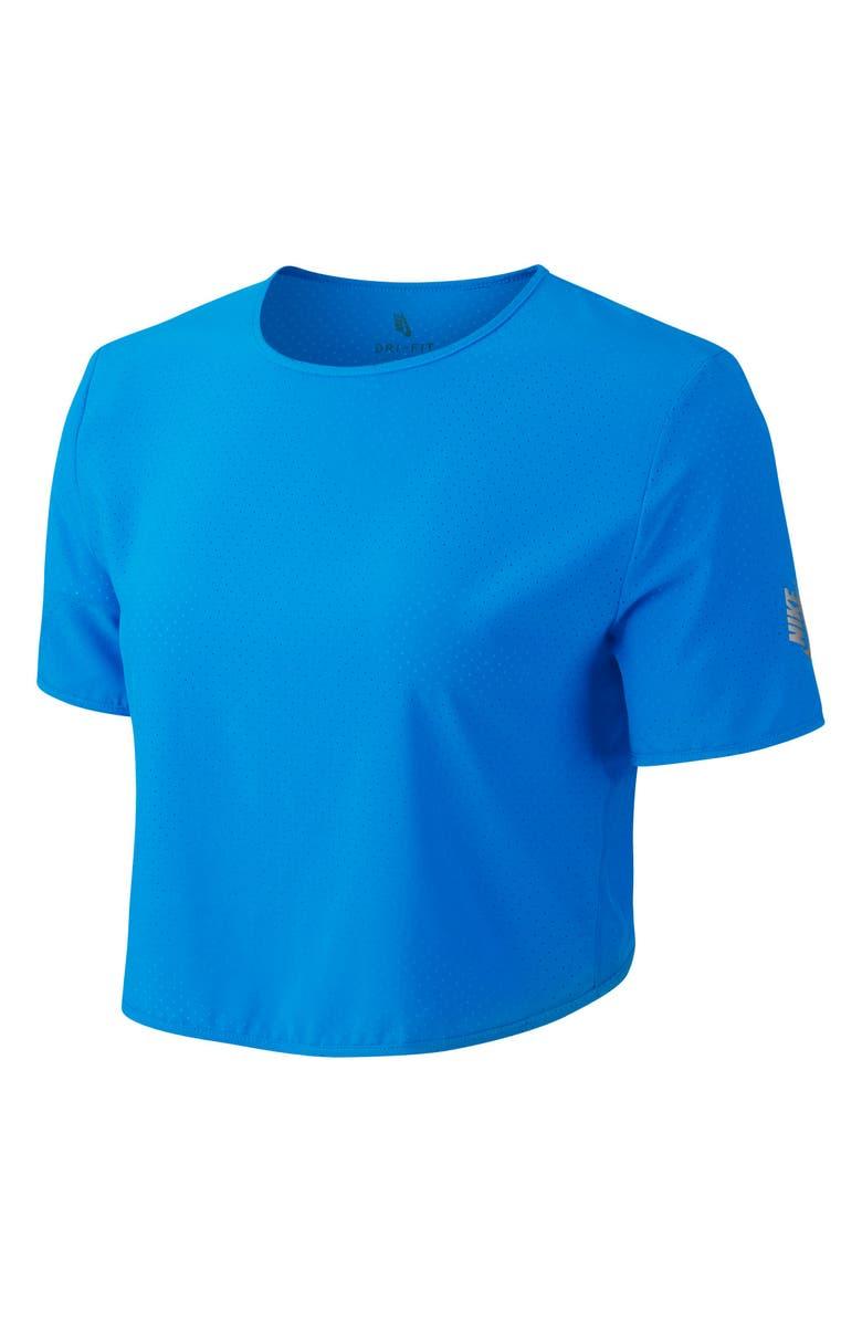 NIKE NikeLab XX Women's Dri-FIT Training Top, Main, color, BLUE HERO