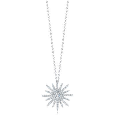 Kwiat Elements Pave Diamond Pendant Necklace