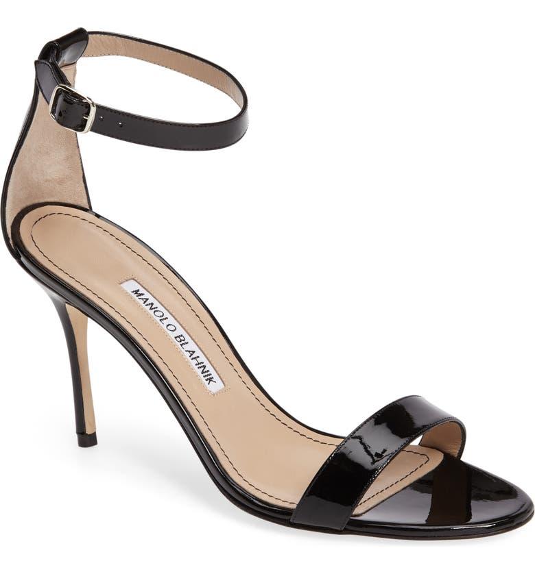 18d07d7341bb0 Manolo Blahnik 'Chaos' Ankle Strap Sandal (Women) | Nordstrom