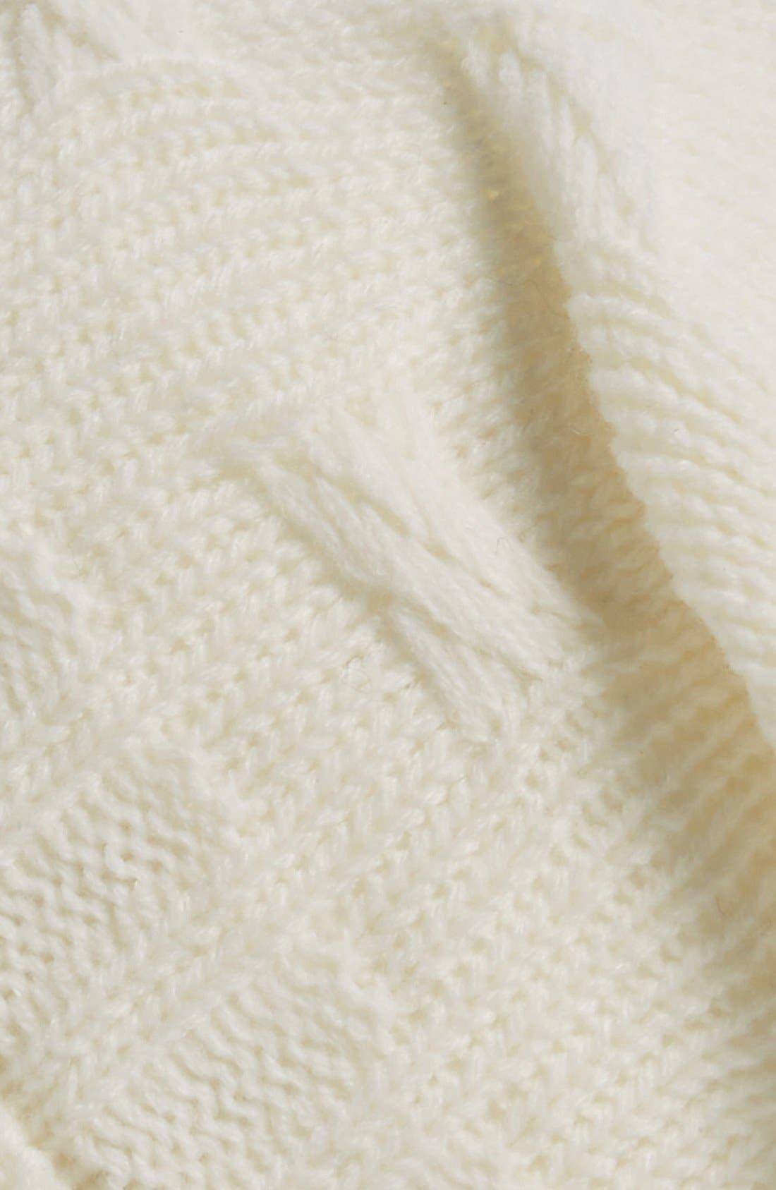 ,                             Braid Knit Beanie,                             Alternate thumbnail 6, color,                             900