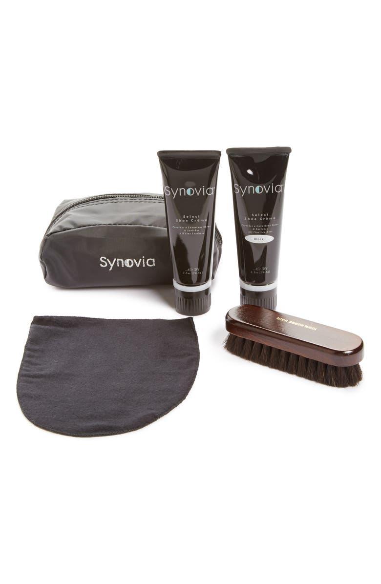 SYNOVIA Shoe Care Kit, Main, color, 000
